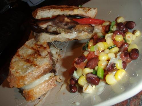 veggie panin