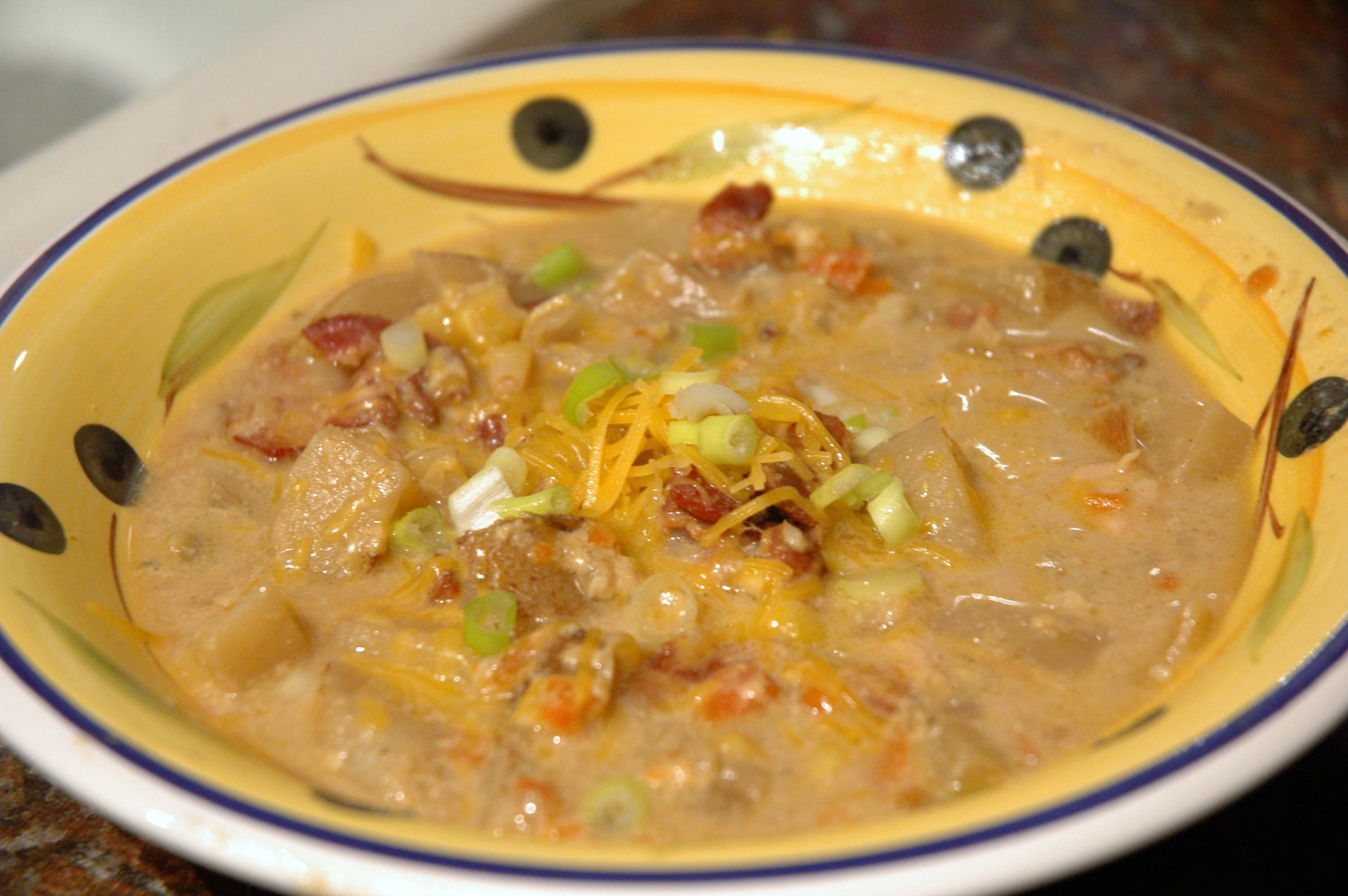 Loaded Baked Potato & Cheesy-Beer Soup