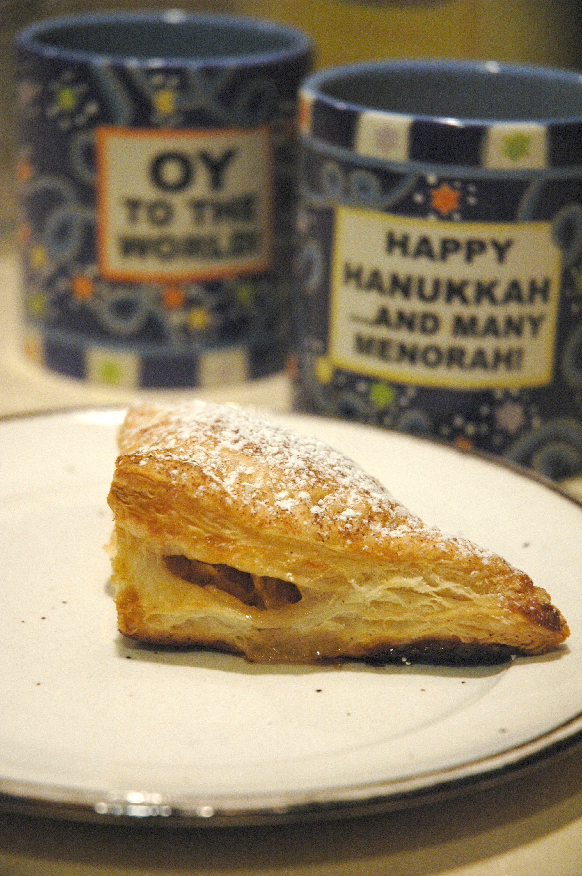 Happy Hanukkah: turnover style