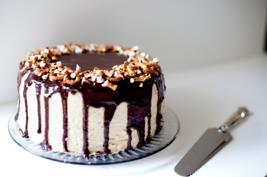 Peanut Butter Cake, photograph by Alborn Photography