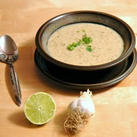 Cilantro White Bean Lime Soup