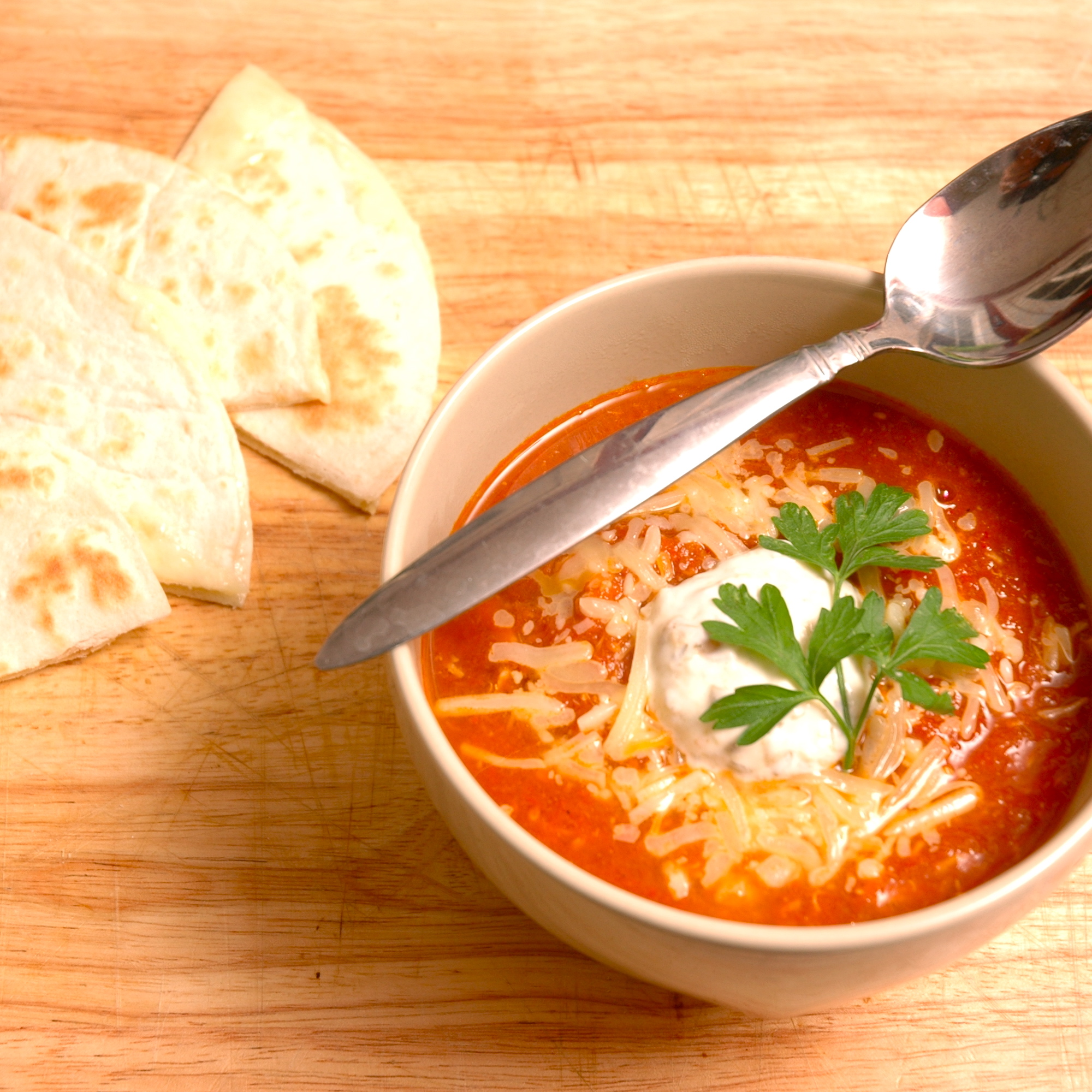 Ever Ready: Mexican Tomato Soup